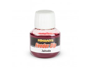 Mikbaits Feeder dip 50ml - Jahoda