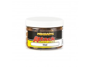 Mikbaits Attack chytací pelety 150ml - Med