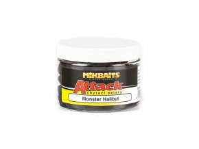 Mikbaits Attack chytací pelety 150ml - Monster Halibut