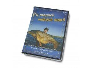 Mikbaits DVD, knihy - DVD Po stopách velkých kaprů