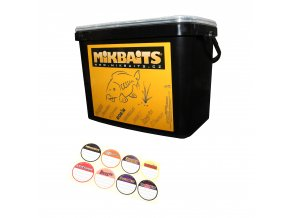 Mikbaits 15l kbelík + samolepky