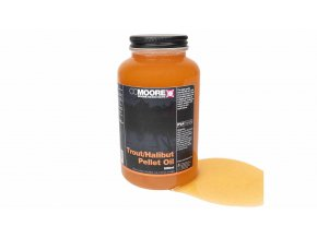 CC Moore oleje 500ml - Trout Halibut Pellet oil