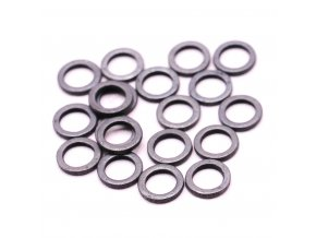 Ashima bižuterie - O kroužek RVS Rig Rings 4mm 20ks
