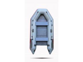 Nafukovací čluny Elling - Forsag 270 s pevnou skládací podlahou, šedý
