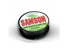 Kryston pletené šňůrky - Samson Green 6lb 25m