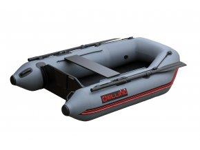 Nafukovací čluny Elling - T200 široký s pevnou skládací podlahou, šedý