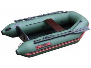 Nafukovací čluny Elling - T200 široký s pevnou skládací podlahou, zelený