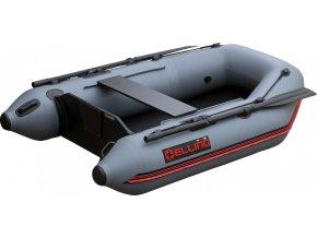 Nafukovací čluny Elling - T240 široký s pevnou skládací podlahou, šedý