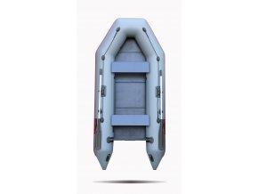 Nafukovací čluny Elling - Forsag 290 s pevnou skládací podlahou, šedý