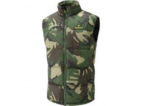 Vesta Wychwood Puffer Gilet Camouflage Large