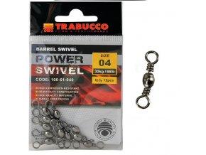 Trabucco obratlík Barrel Swivel 12ks