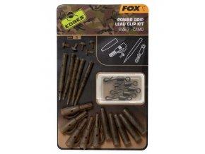 fox edges camo power grip lead clip kit size 7
