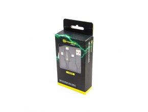 RidgeMonkey Napájecí kabel Vault USB-A to Multi Out Cable 1m