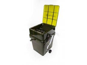 RidgeMonkey Drtička Advanced Boilie Crusher + 17 l Modular Bucket