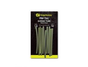 RidgeMonkey Smršťovací hadička RM-Tec Shrink Tube 1,6mm Weed Green 10ks