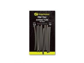RidgeMonkey Smršťovací hadička RM-Tec Shrink Tube 1,6mm Silt Black 10ks