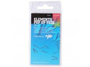 Giants fishing Kolíček s očkem Elements Pop Up Pegs 10mm, 10ks