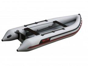 Nafukovací čluny Elling - K430 KARDINAL, šedý