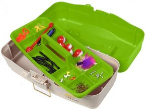 Plano Let's Fish! One-Tray Tackle Box