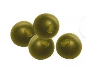 Carp Spirit gumové kuličky Rubber Beads 6 mm, Camfusion, 25 ks
