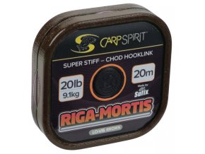 Carp Spirit Riga Mortis 20 m/11,3 kg/25 lb hnědá