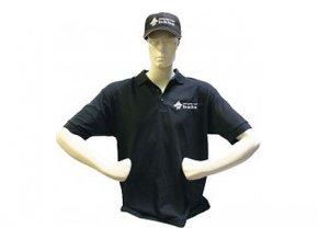 Imperial Fishing tričko s límečkem - černé