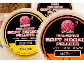 Mainline chytací peletky Pro-Active Soft Hooker Pellets 180 ml