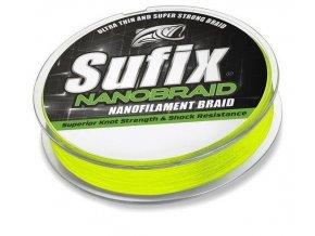 Sufix Nano Braid 100 m jasně žlutá