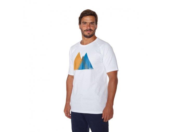 BERG HOUSTON CASUAL T-shirt M (Farba Biela, Veľkosť L)