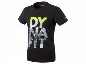 DYNAFIT Digital Cotton S/S Tee M (Farba Black Out/RUN, Veľkosť XXL)