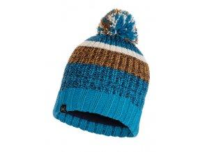 BUFF KNITTED A POLAR HAT (Farba TEAL BLUE)