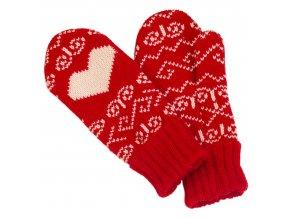 Dámske rukavice SOCHI 287 červene