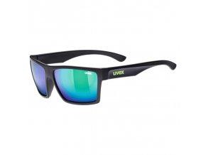 UVEX lgl 29 black mat/mirror green S3