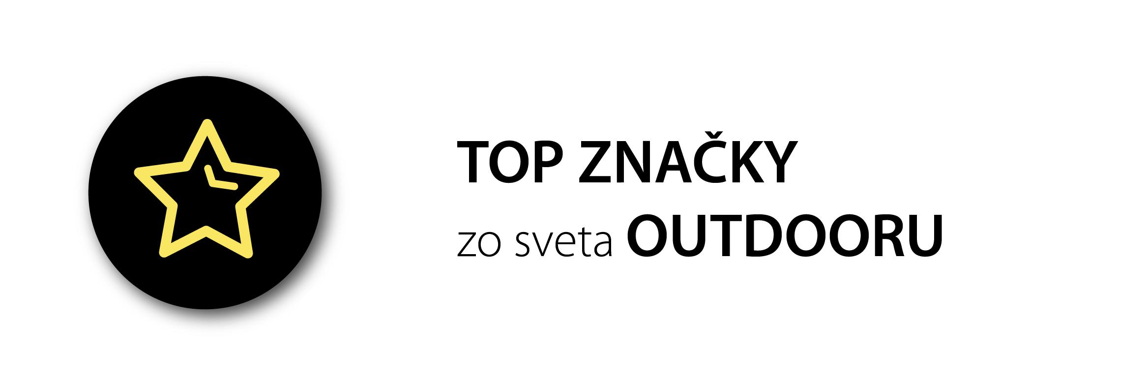 Top značky zo sveta outdooru