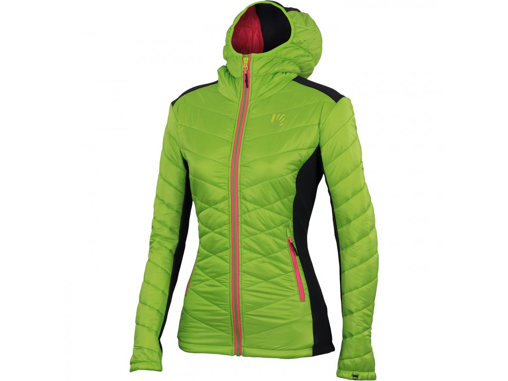 Karpos BURELON bunda dámska svetlozelená antracit - KARAKORAM 8b7c6a0ad56