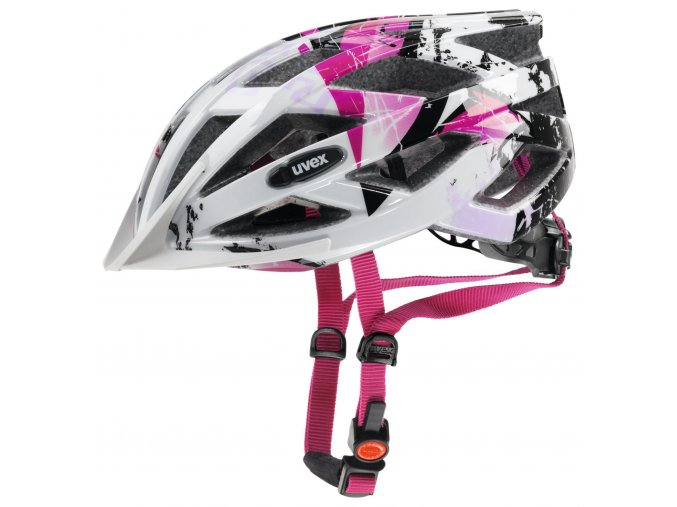 uvex air wing white pink 52 57 cm