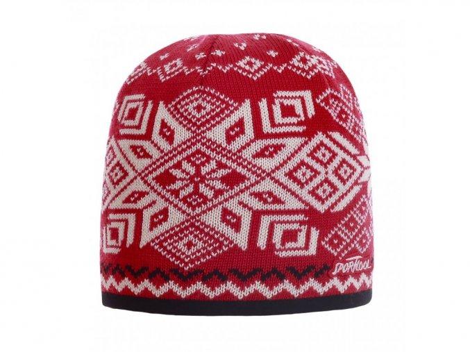 SPORTCOOL Pánska čiapka 204 - červená