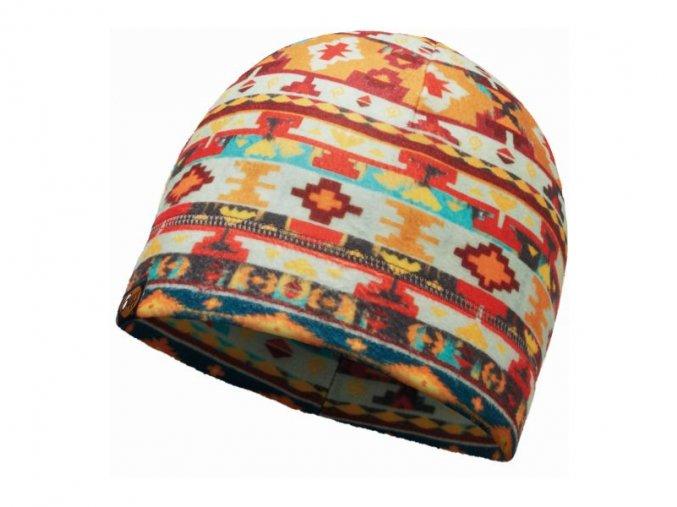 Buff Polar Hat Patterned
