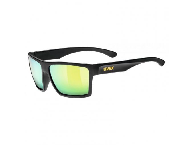 uvex lgl 29 black mat/mirror yellow S3