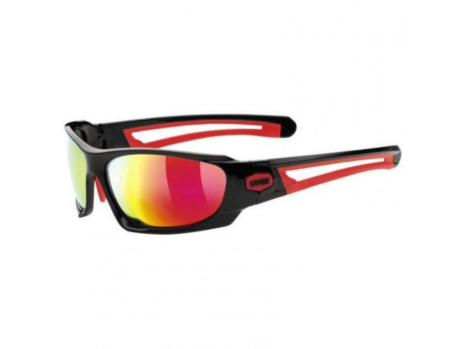 uvex sportstyle 306 black red