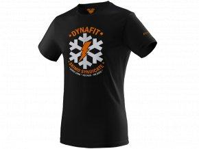 DYNAFIT Graphic bavlnené pánske tričko