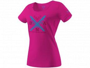 DYNAFIT Graphic bavlnené dámske tričko