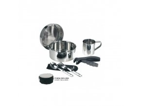 st steel cooking set 17 cm with neoprene cover a