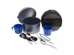 aluminium cooking set 2 16 l