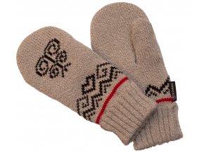 SPORTCOOL Pánske rukavice PYEONGCHANG 297 - sivý melír/čierna