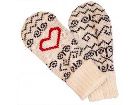 SPORTCOOL Pánske rukavice SOCHI 290 - prírodná/tmavomodrá