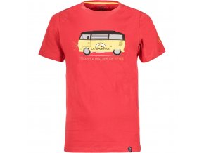LA SPORTIVA Van T-Shirt M Cardinal Red