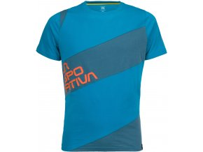 LA SPORTIVA SLAB T-SHIRT Tropic blue/lake