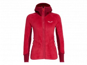 SALEWA PUEZ WARM PL W FULL-ZIP HOODY