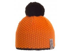SPORTCOOL Unisex čiapka 120 - oranžová/čierna